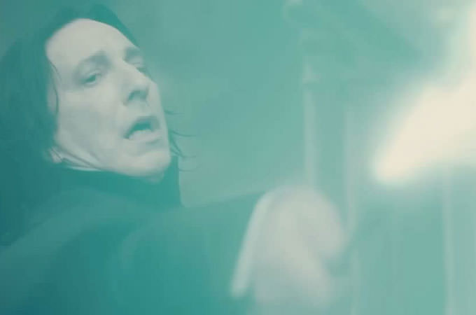 snape killing-dumbledore