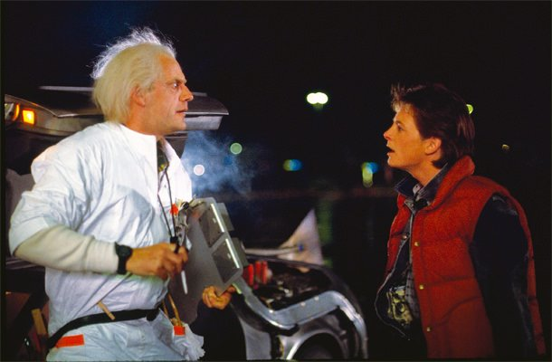bask to the future