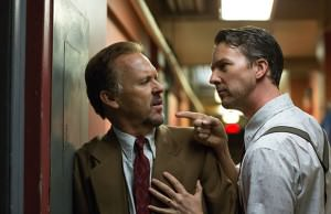 Michael Keaton and Edward Norton in Birdman (2014)