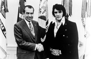 President Nixon and Elvis Presley