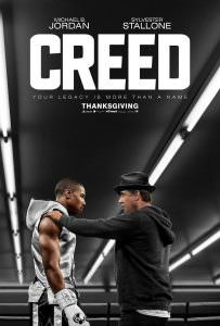 Creed film poster with Stallone and Jordan